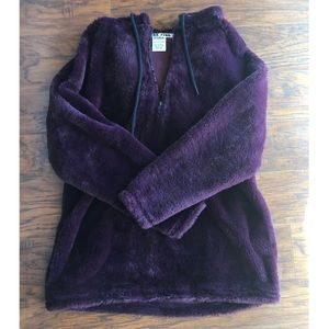Purple Plush PINK Hoodie